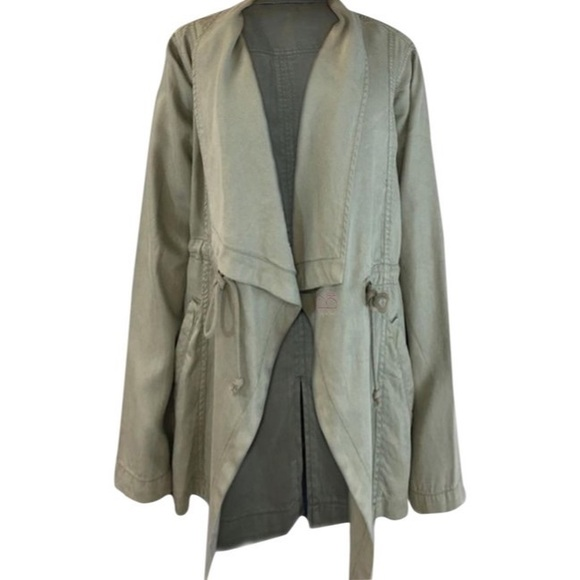 Max Jeans Jackets & Blazers - Max Jean M Olive Duster Jacket